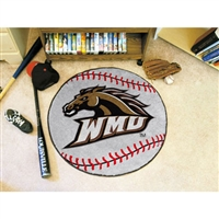 Western Michigan Broncos NCAA Baseball Round Floor Mat (29)