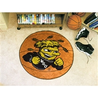 Wichita State Shockers NCAA Basketball Round Floor Mat (29)