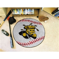 Wichita State Shockers NCAA Baseball Round Floor Mat (29)