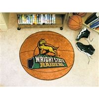 Wright State Raiders NCAA Basketball Round Floor Mat (29)