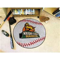Wright State Raiders NCAA Baseball Round Floor Mat (29)