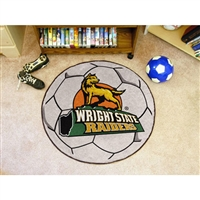 Wright State Raiders NCAA Soccer Ball Round Floor Mat (29)