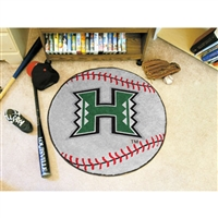 Hawaii Rainbow Warriors NCAA Baseball Round Floor Mat (29)
