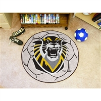 Fort Hays State Tigers NCAA Soccer Ball Round Floor Mat (29)