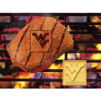 West Virginia Mountaineers NCAA Fan Brands Grill Logo