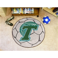 Tulane Green Wave NCAA Soccer Ball Round Floor Mat (29)