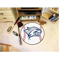 New Hampshire Wildcats NCAA Baseball Round Floor Mat (29)