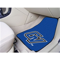 Grand Valley State Lakers NCAA 2-Piece Printed Carpet Car Mats (18x27)