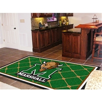 Marshall Thundering Herd NCAA Floor Rug (5x8')