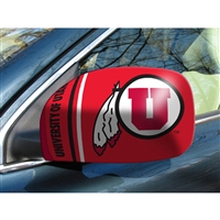 Utah Utes NCAA Mirror Cover (Small)