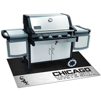 Chicago White Sox MLB Vinyl Grill Mat