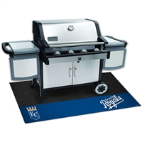 Kansas City Royals MLB Vinyl Grill Mat