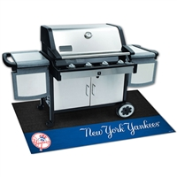 New York Yankees MLB Vinyl Grill Mat