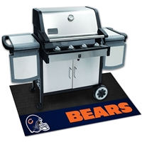 Chicago Bears NFL Vinyl Grill Mat