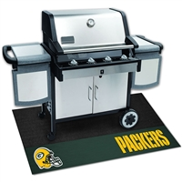 Green Bay Packers NFL Vinyl Grill Mat