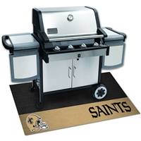 New Orleans Saints NFL Vinyl Grill Mat