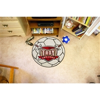 Troy State Trojans NCAA Soccer Ball Round Floor Mat (29)