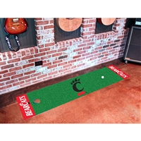 Cincinnati Bearcats NCAA Putting Green Runner (18x72)