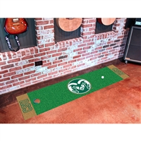 Colorado State Rams NCAA Putting Green Runner (18x72)