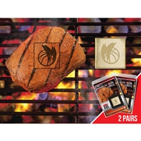 Dallas Mavericks NBA Fan Brands Grill Logo(2 Pack)