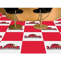 Lamar Cardinals NCAA Team Logo Carpet Tiles
