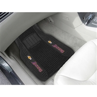 Los Angeles Lakers NBA Deluxe 2-Piece Vinyl Car Mats (20x27)