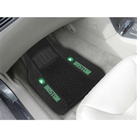 Boston Celtics NBA Deluxe 2-Piece Vinyl Car Mats (20x27)