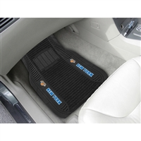 New York Knicks NBA Deluxe 2-Piece Vinyl Car Mats (20x27)