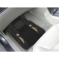 Boston Bruins NHL Deluxe 2-Piece Vinyl Car Mats (20x27)