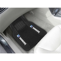 New York Rangers NHL Deluxe 2-Piece Vinyl Car Mats (20x27)