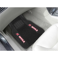 New Jersey Devils NHL Deluxe 2-Piece Vinyl Car Mats (20x27)