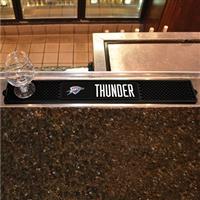 Oklahoma City Thunder NBA Drink Mat (3.25in x 24in)
