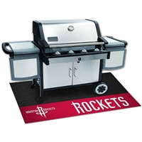 Houston Rockets NBA Vinyl Grill Mat(26x42)