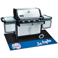 Los Angeles Clippers NBA Vinyl Grill Mat(26x42)