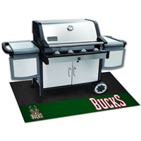 Milwaukee Bucks NBA Vinyl Grill Mat(26x42)