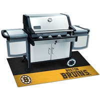Boston Bruins NHL Vinyl Grill Mat(26x42)