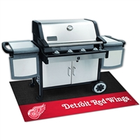 Detroit Red Wings NHL Vinyl Grill Mat(26x42)