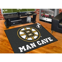 Boston Bruins NHL Man Cave All-Star Floor Mat (34in x 45in)