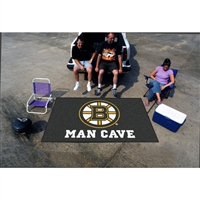 Boston Bruins NHL Man Cave Ulti-Mat Floor Mat (60in x 96in)