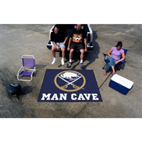 Buffalo Sabres NHL Man Cave Tailgater Floor Mat (60in x 72in)