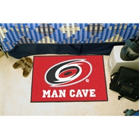 Carolina Hurricanes NHL Man Cave Starter Floor Mat (20in x 30in)