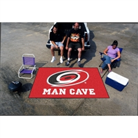 Carolina Hurricanes NHL Man Cave Ulti-Mat Floor Mat (60in x 96in)