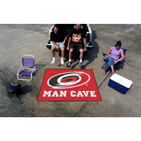 Carolina Hurricanes NHL Man Cave Tailgater Floor Mat (60in x 72in)
