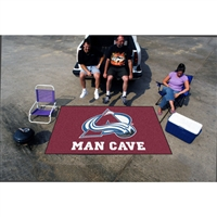 Colorado Avalanche NHL Man Cave Ulti-Mat Floor Mat (60in x 96in)
