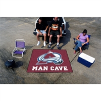 Colorado Avalanche NHL Man Cave Tailgater Floor Mat (60in x 72in)