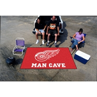 Detroit Red Wings NHL Man Cave Ulti-Mat Floor Mat (60in x 96in)