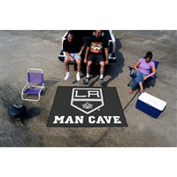 Los Angeles Kings NHL Man Cave Tailgater Floor Mat (60in x 72in)