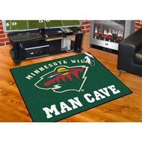 Minnesota Wild NHL Man Cave All-Star Floor Mat (34in x 45in)