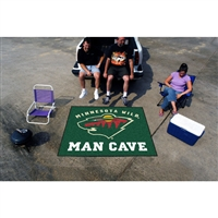 Minnesota Wild NHL Man Cave Tailgater Floor Mat (60in x 72in)