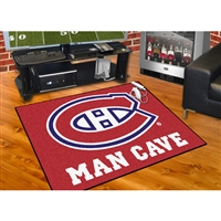 Montreal Canadiens NHL Man Cave All-Star Floor Mat (34in x 45in)